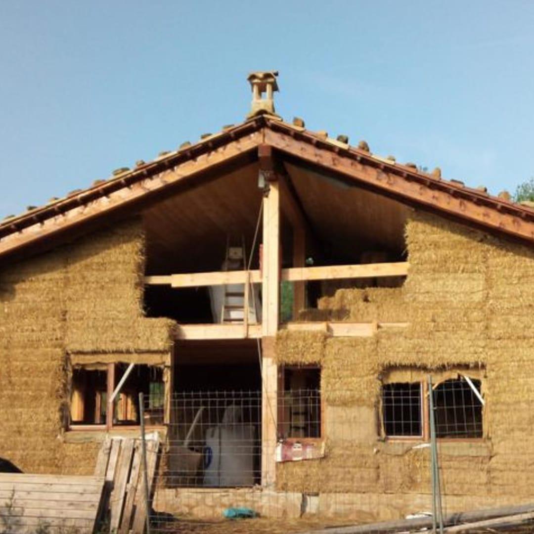 casa de palla en Borredà